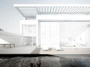 render arquitectura exterior