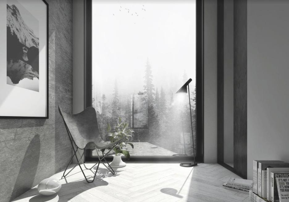 Inspiración en los renders de arquitectura